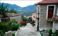 Греческая деревня фото