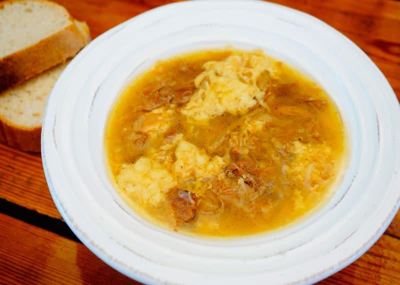 Луковый суп с говядиной рецепт приготовление фото