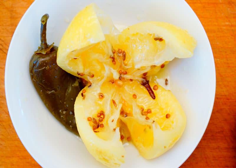 Маринованные лимоны фото