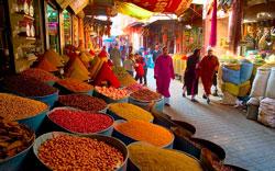 Марракешский базар фото