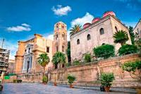 Монастырь в Палермо фото