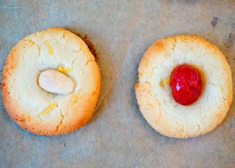 Печенье пастичини ди паста ди мандорле рецепт фото