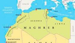 Магриб карта фото
