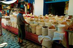 Тунис рынок специй фото