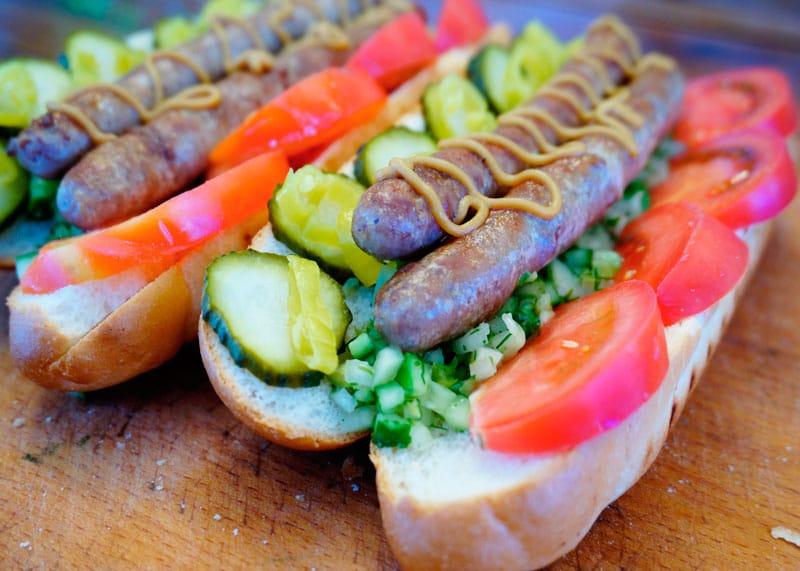 Чикагский хот-дог рецепт фото