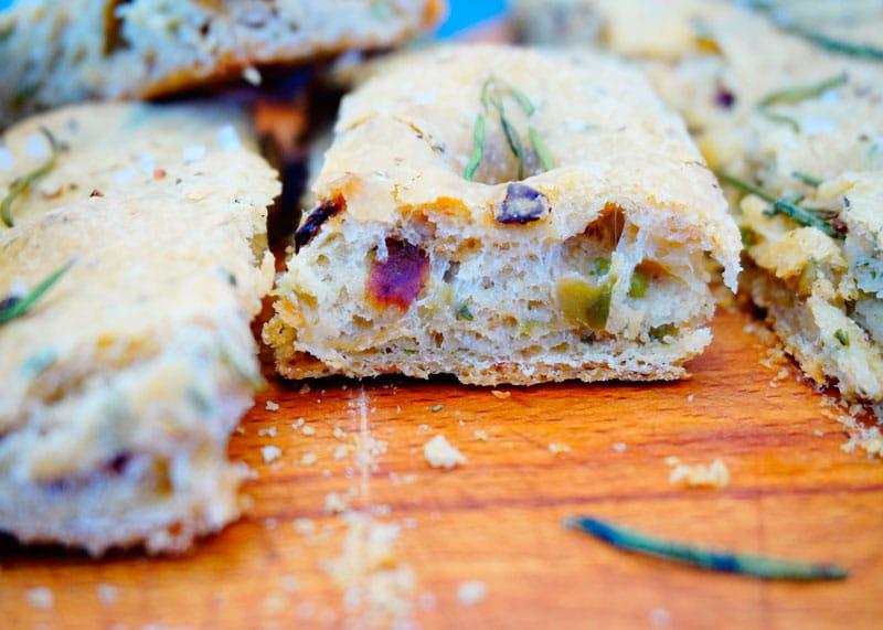 Фокачча с оливками рецепт фото