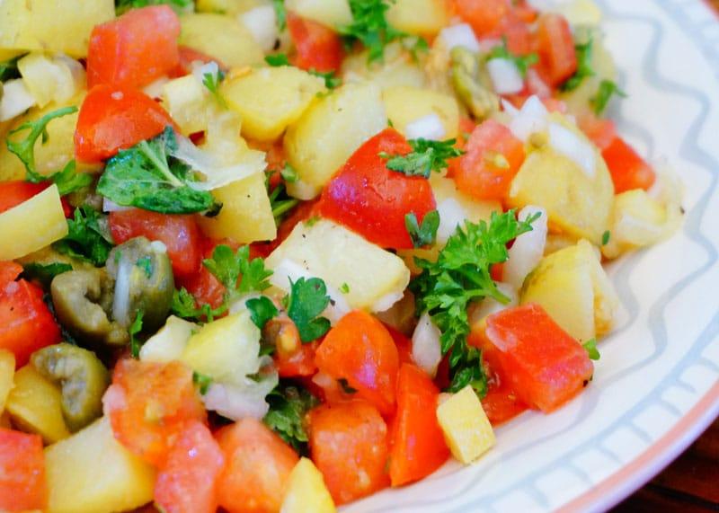 Картофель в берберском стиле фото