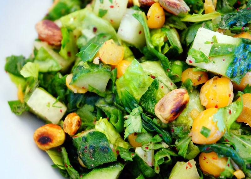 Левантийский салат из огурцов рецепт фото