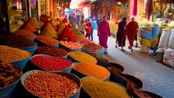 Рынок Марокко фото