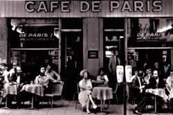 Кафе де Пари 1961 фото