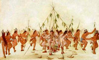 Кукуруза в жизни индейцев фото