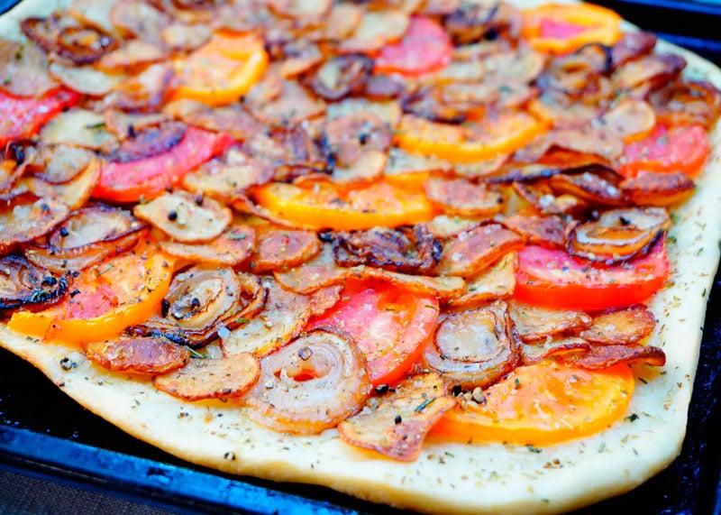 Пицца с жаренным картофелем приготовление фото