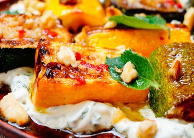 Цуккини с грецкими орехами рецепт фото
