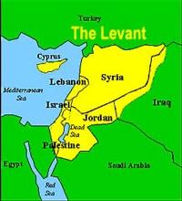 Левант карта фото
