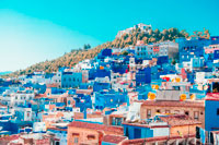 Голубой Марокко фото