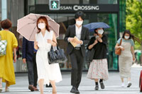 Летом под зонтиком фото