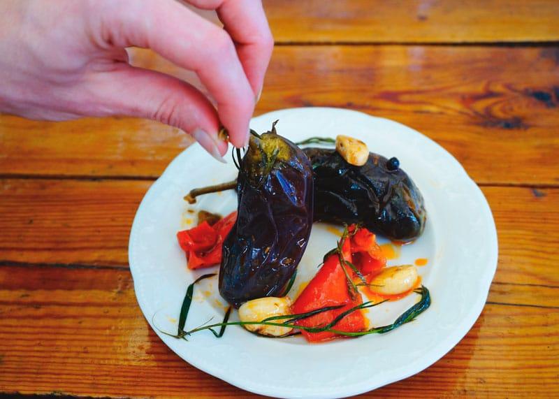 Маринованные баклажаны из Альмагро рецепт фото
