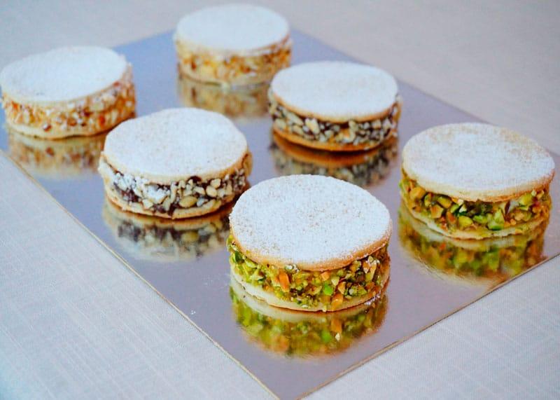 Рецепт Неаполитанские пирожные фото