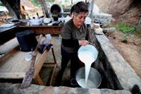 Производство халуми на Кипре фото