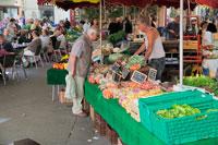Рынок в Провансе фото