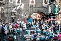 Рыбный рынок Катания фото