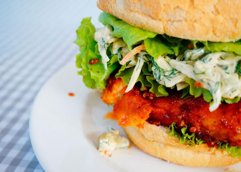Сэндвич с курицей по-нешвильски фото