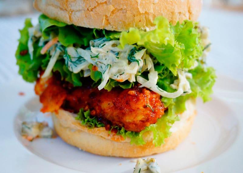 Сэндвич с курицей по-нешвильски рецепт фото