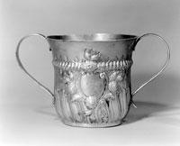 Серебрянная чашка для пассета