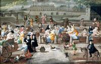 Средневековый рынок фото