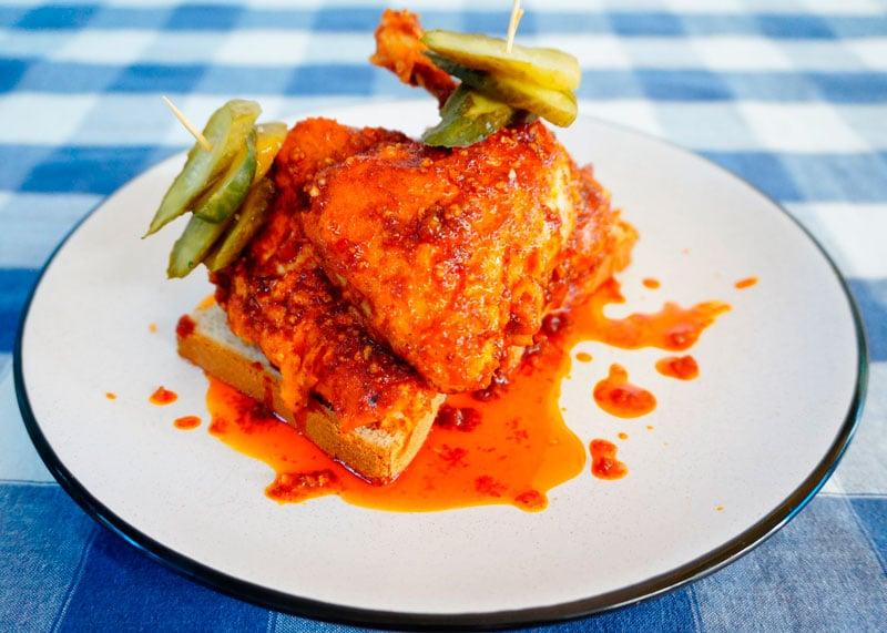 Цыпленок по-нешвильски рецепт фото