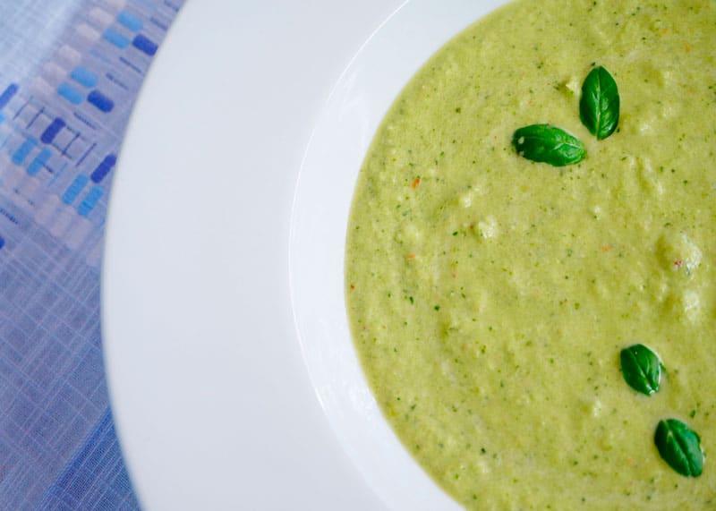 Зеленый гаспачо рецепт фото