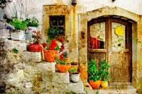 Домик в Греции фото