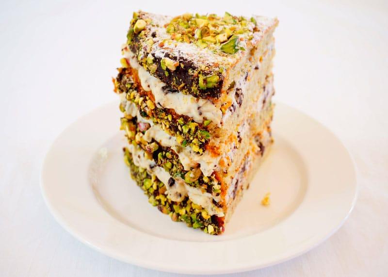 Фисташковый торт канолли рецепт фото