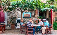 Греческая таверна фото