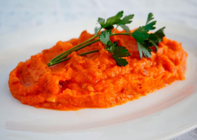 Красное картофельное пюре рецепт фото
