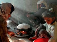 Палестинки готовят еду фото