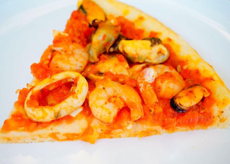 Пицца фрутти ди маре рецепт фото
