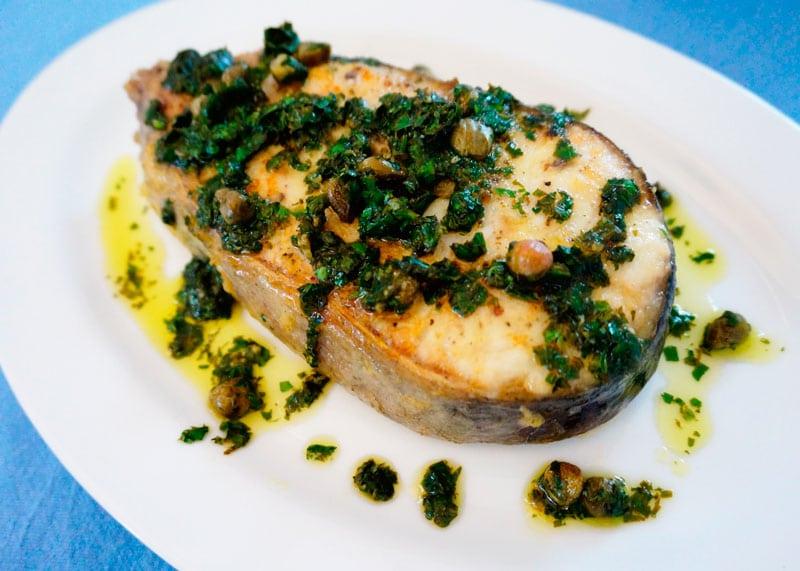 Рыба в соусе мюньер фото