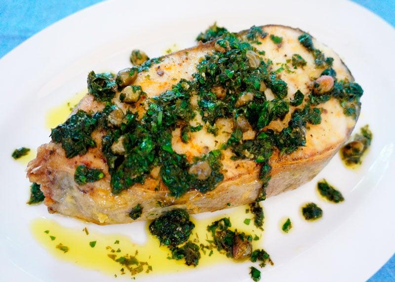 Рыба в соусе мюньер рецепт фото