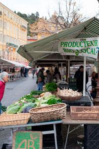 Рынок в Ницце фото