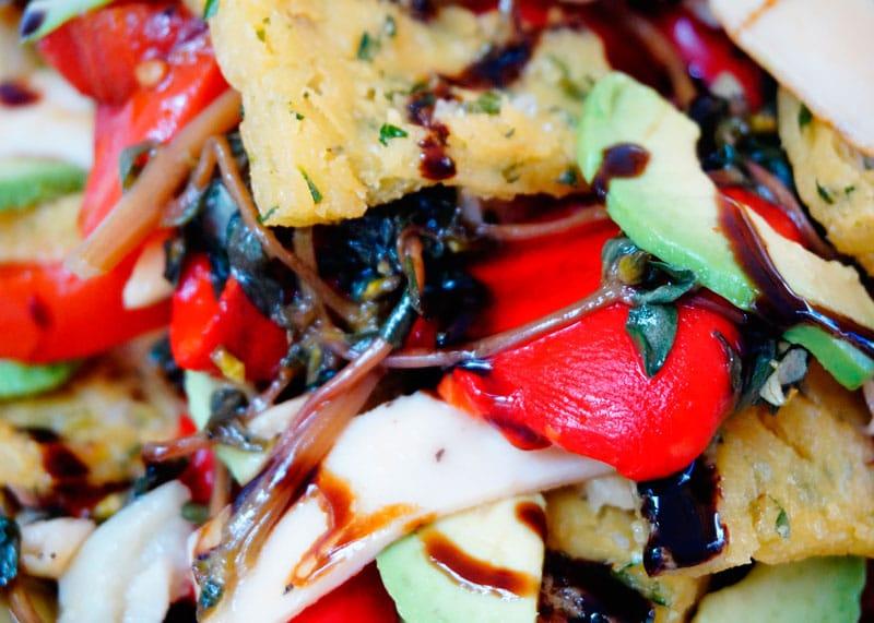 Салат из перцев с панелле рецепт фото