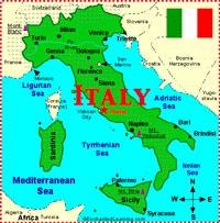 Сапог Италия фото