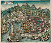 Средневековая Генуя фото