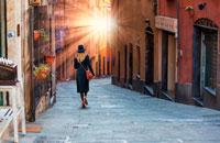 Улочки Генуи фото