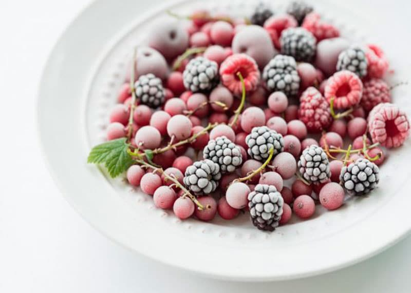 Замороженные фрукты фото