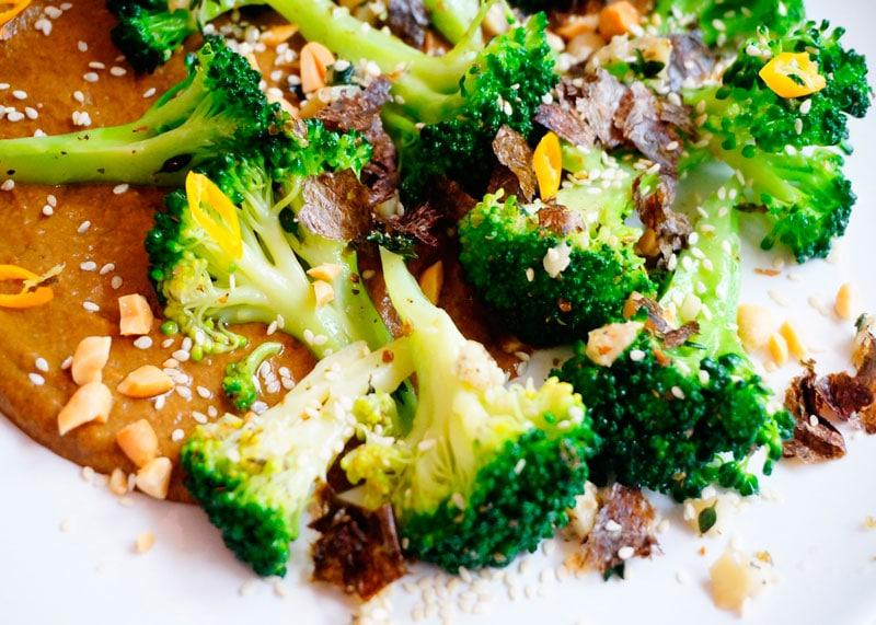 Брокколи с кетчупом из грибов рецепт фото