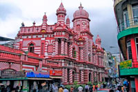 Красная мечеть фото
