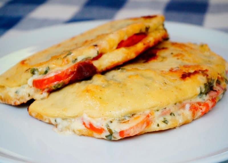 Пицца-сэндвич рецепт фото