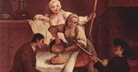 Полента в средневековой Италии фото