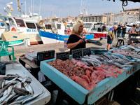 Рыбный рынок Марсель фото